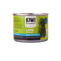 Kiwi Kitchens Kitten Lamb and Mussel Wet Cat Food - 170g
