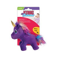 KONG Enchanted Buzzy Unicorn Cat Toy - Each