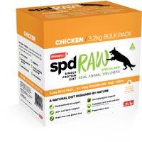 Prime100 SPD RAW Chicken Fresh Dog Food - 3.2kg