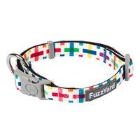 FuzzYard Jenga Dog Collar - Large
