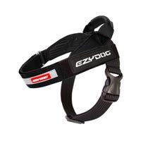 EzyDog Express Harness Black Dog Harness - XLarge