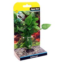 Aqua One Betta Plant Lily Green Artificial Plant - Each