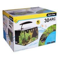 Aqua One Arc Aquarium Fish Tank - 30L