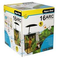 Aqua One Arc Aquarium Fish Tank - 16L