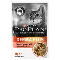 Pro Plan Adult Cat Derma Plus with Optirenal Salmon Wet Cat Food - 85g