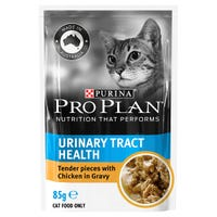 Pro Plan Adult Cat Urinary Tract Health Chicken Wet Cat Food Pouch - 85g