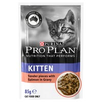 Pro Plan Kitten Salmon in Gravy Wet Cat Food - 85g