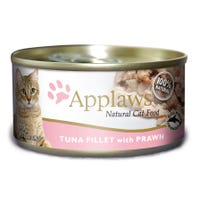 Applaws Feline Tuna with Prawn Wet Cat Food - 70g