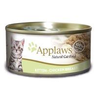 Applaws Feline Kitten Chicken Breast Wet Cat Food - 70g
