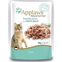 Applaws Feline Tuna Whole Meat in Jelly Wet Cat Food Pouch- 70g