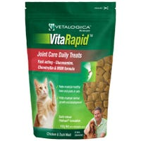 Vetalogica Vitarapid Cat Joint Care Arthritis Chicken and Duck Cat Treats - 100g