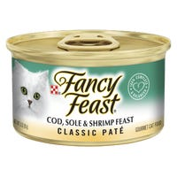 Fancy Feast Cod, Sole & Shrimp Wet Cat Food - 85g
