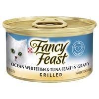 Fancy Feast Grilled Whitefish & Tuna in Gravy Wet Cat Food - 85g