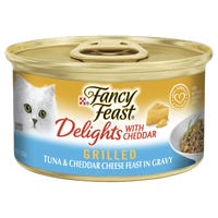 Fancy Feast Delights Cheddar & Tuna Wet Cat Food - 85g