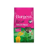 Burgess Excel Parsley Pieces Small Animal Treats - 80g