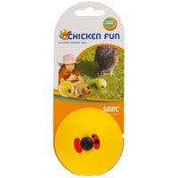 Savic Chicken Fun Yellow Food Dispensing Ball - Each