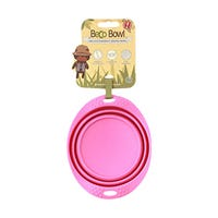 Beco Travel Bowl Pink - Small.jpg