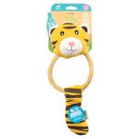 Beco Dual Material Cotton-Hemp Tiger Dog Toy - Medium.jpg
