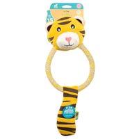 Beco Dual Material Cotton-Hemp Tiger Dog Toy - Large.jpg