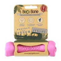 Beco Bone Pink Dog Toy - Small.jpg
