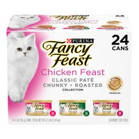 Fancy Feast Chicken Feast Pate Wet Cat Food 85g - 24pk