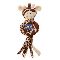 KONG Wubba No Stuff Giraffe Dog Toy - Large
