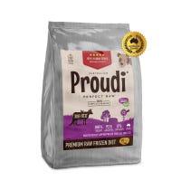 Proudi Dog Kangaroo & Beef Frozen Dog Food - 2.8kg