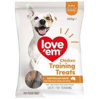 Love Em Chicken Mini Treats Dog Treats - 200g
