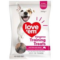 Love Em Roo Mini Treats Dog Treats - 200g