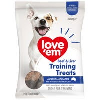 Love Em Liver Mini Treats Dog Treats - 200g