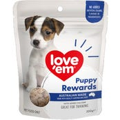 Love Em Liver Puppy Rewards Dog Treats - 200g