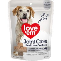 Love Em Beef Joint Care Dog Treats - 250g