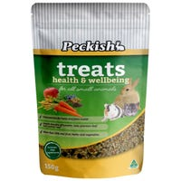 Peckish Small Animal Health & Wellbeing Treats - 150g