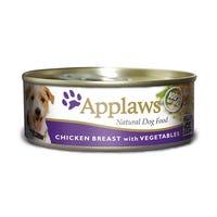 Applaws Chicken & Vegetables Wet Dog Food - 156g