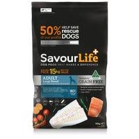 SavourLife Grain Free Adult Large Breed Fish Dry Dog Food - 15kg