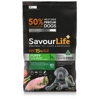 SavourLife Grain Free Puppy Large Breed Chicken Dry Dog Food - 15kg