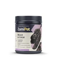 ZAMIPET RELAX & CALM FOR DOGS 300G 60 CHEWS