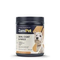 ZAMIPET SKIN COAT & NAILS FOR DOGS 300G 60 CHEWS