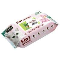 Kit Cat Anti Bacterial Aloe Vera Cat Wipes 20 X 15cm - 80pk