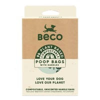 Beco Bags with Handles Compostable Poo Bags - 96pk