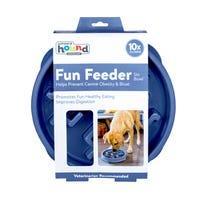 Outward Hound Fun Feeder Notch Slow Dog Bowl - Large