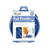 Outward Hound Fun Feeder Notch Slow Dog Bowl - Medium