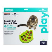 Nina Ottosson Puzzle & Play Buggin Out Cat Toy - Each