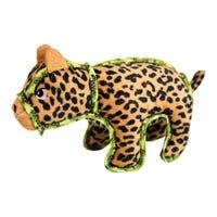 Outward Hound Xtreme Seamz Leopard Dog Toy - Each