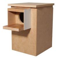 Avi One Wood Cockatiel Nest Box - Each