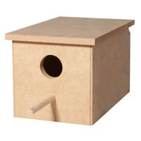 Avi One Wood Small Parrot Nest Box - Each