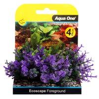 Aqua One Ecoscape Foreground Catspaw Purple - 4pk