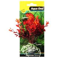 Aqua One Bettascape Firedancer Petals On Sphere Red - Each