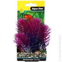 Aqua One Bettascape Bristleena Rock Garden Blue/Purple - Each