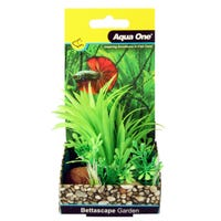 Aqua One Bettascape Dracaena Rock Garden Green - Each